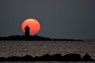 Photo: Sunset in Sardinia