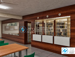 Photo: 3d Rendering of Library