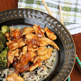 Marmalade Chicken Stir Fry
