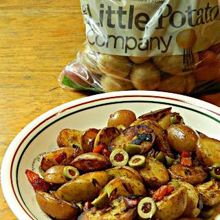 Spanish Skillet Creamer Potatoes