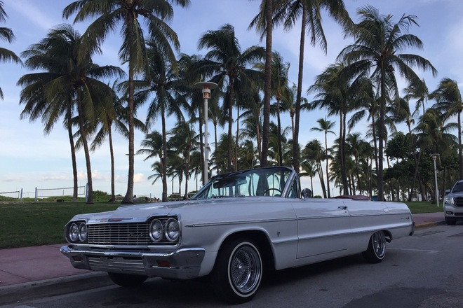 1964 Chevrolet Impala convertible Hire FL