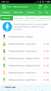 Free 7 Minute Workout - weight loss, HICT App- screenshot thumbnail
