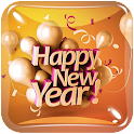 Happy New Year Live Wallpaper icon
