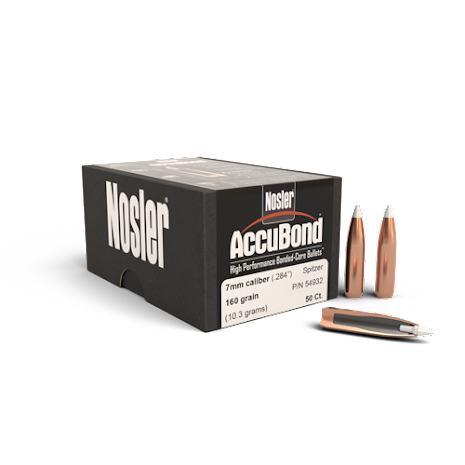 Nosler Accubond 7mm/ .284 160gr 50st