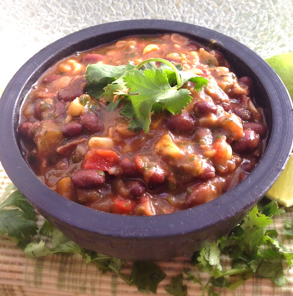 New Mexico Black Bean Soup Recipe