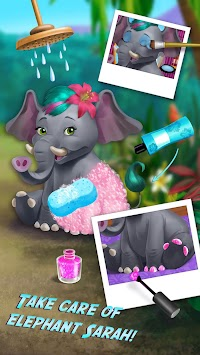 Jungle Animal Hair Salon APK screenshot thumbnail 2