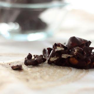 Dark Chocolate Pretzel Cherry Clusters