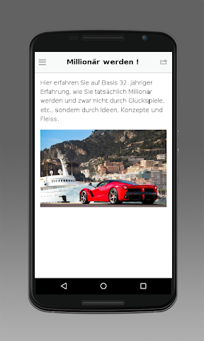 android Millionär werden Screenshot 1
