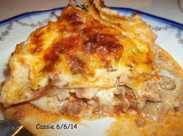 Layered Cabbage, Potato And Sausage Casserole