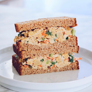 "Chickpea ""Tuna"" Sandwich."
