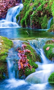 Waterfall Nature Wallpaper - náhled