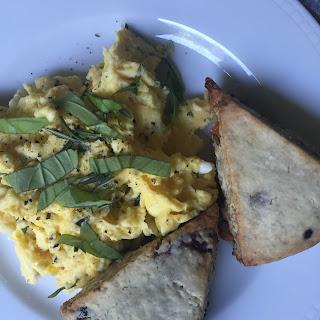 Fluffy Herb Ricotta Eggs