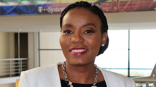 Outgoing T-Systems South Africa MD Dineo Molefe.