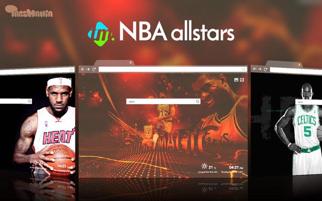 Basketball Wallpapers HD - NBA All Stars