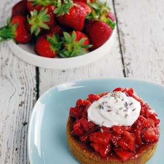 Lavender Gin Strawberry Shortcake Recipe