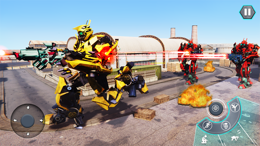 Us Army Robot FPS Shooting Strike Game 3D 2020 android2mod screenshots 6