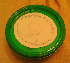 Photo: Body Butter that Q made is school!