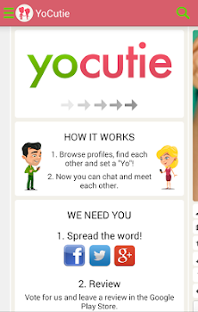 YoCutie - 100% Free Dating App - Flirt, Chat, Meet