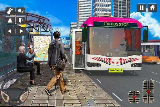 Coach Bus Simulator Game: Bus Driving Games 2020 apktram screenshots 7