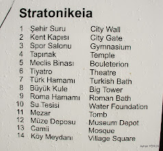 Photo: Stratonikeia Karya(Karia) Yolu 6. Etabı - 01.11.2014