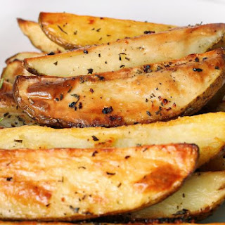 Oven Fried Potato Wedges with Rosemary Recipe