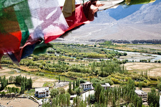Photo: Indus River from Spituk Gompa, Leh, Ladakh, Indian Himalayas