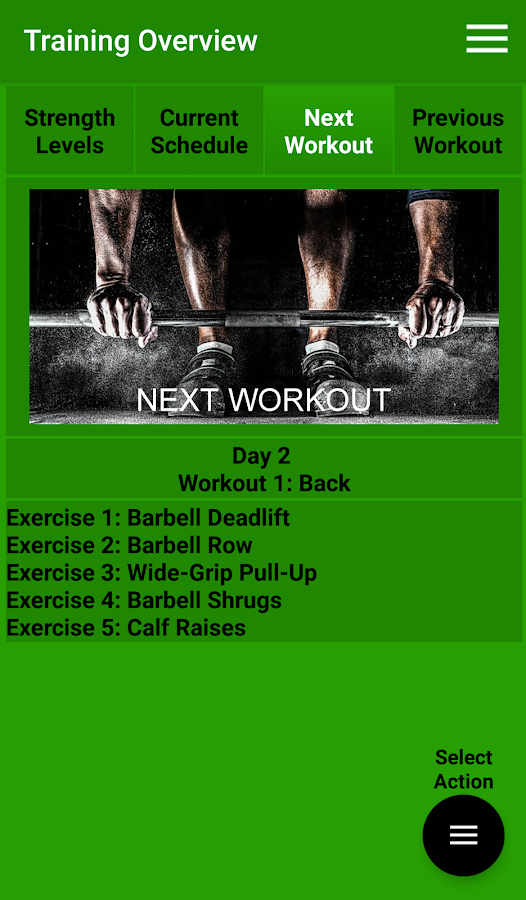 Max Fitness Workout Assistant- screenshot