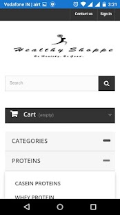 HealthyShoppe Supplement Store- screenshot thumbnail
