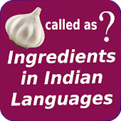 Ingredients (Groceries) Translator