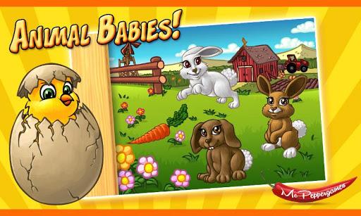玩教育App|Animal Babies - Kids Puzzle免費|APP試玩