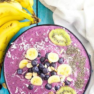 Blueberry Banana Smoothie Bowl Recipe
