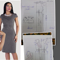 Easy dress patterns icon