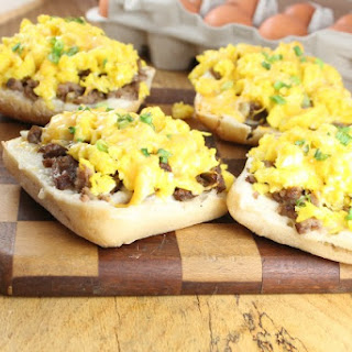 Ciabatta Breakfast Pizza