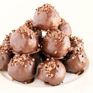 Chocolate Peanut Butter Energy Balls.
