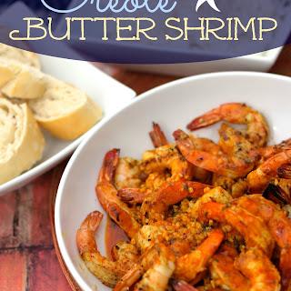 Creole Butter Shrimp