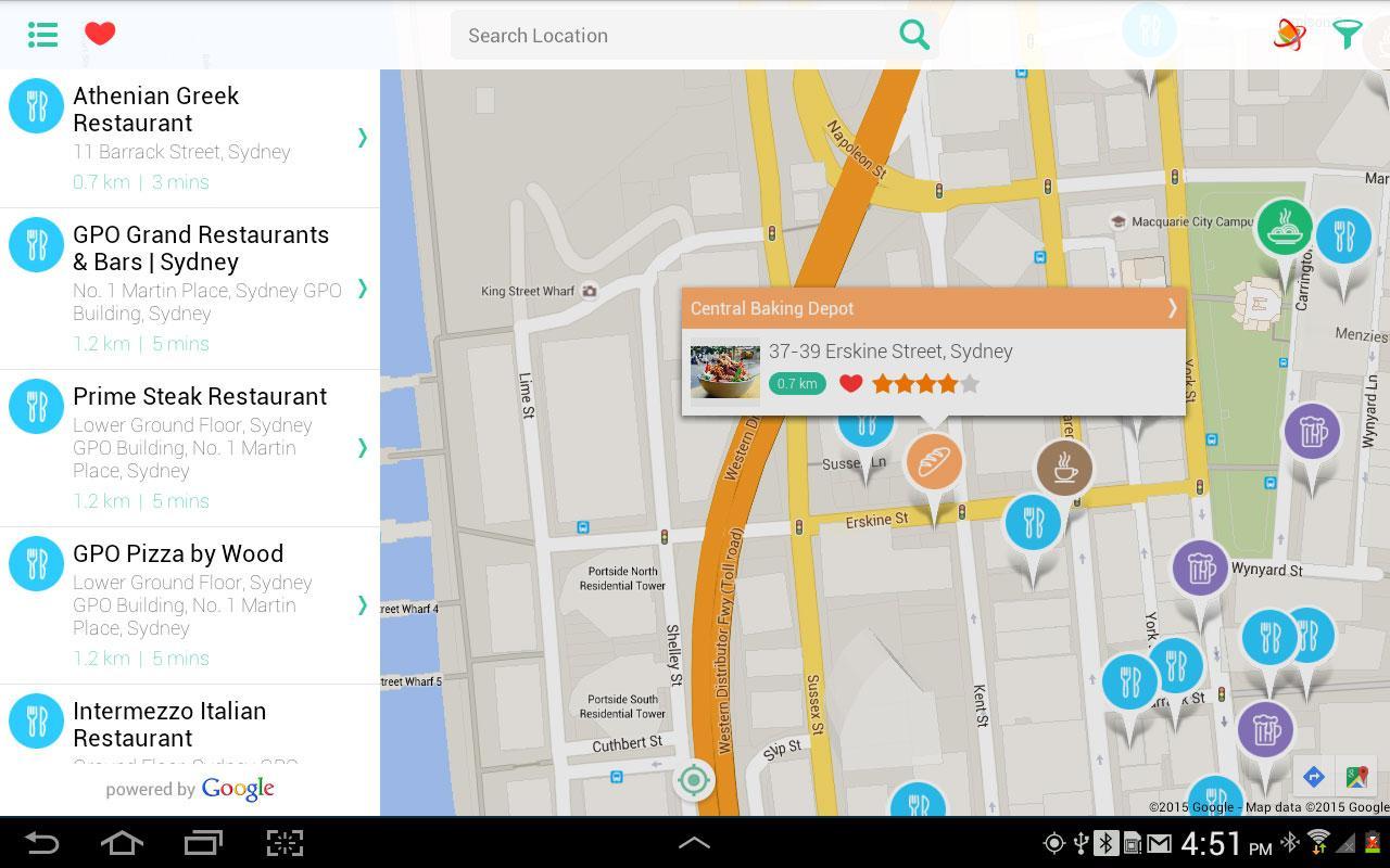 restaurants near me screenshot. restaurants near me  android apps on google play