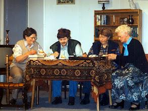 Photo: Willy Schuiling, Marchie Enting, Tiny Hofsteenge en Appie Okken