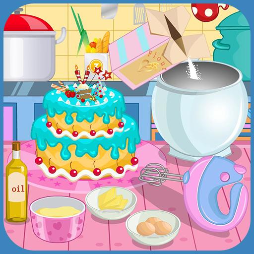 Cooking Celebration Cake Icon