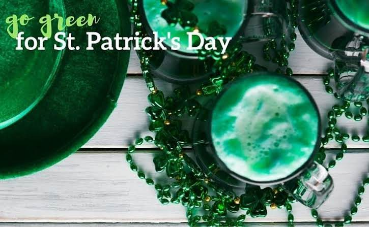 Go Green for St. Patrick's Day