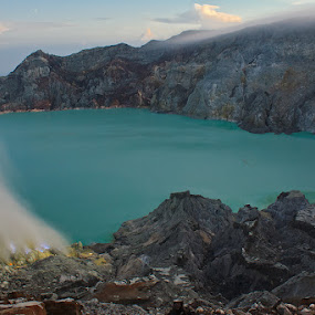 the claw of ijen carter by Kus Wantoro - Landscapes Mountains & Hills