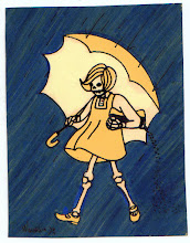 Photo: Mail art 366, Day 59 card 59a  I think this just might inspire me to put up a salt girl coloring page on my blog this aftenoon