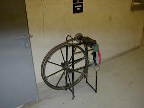 Photo: The knife sharpeners equipment