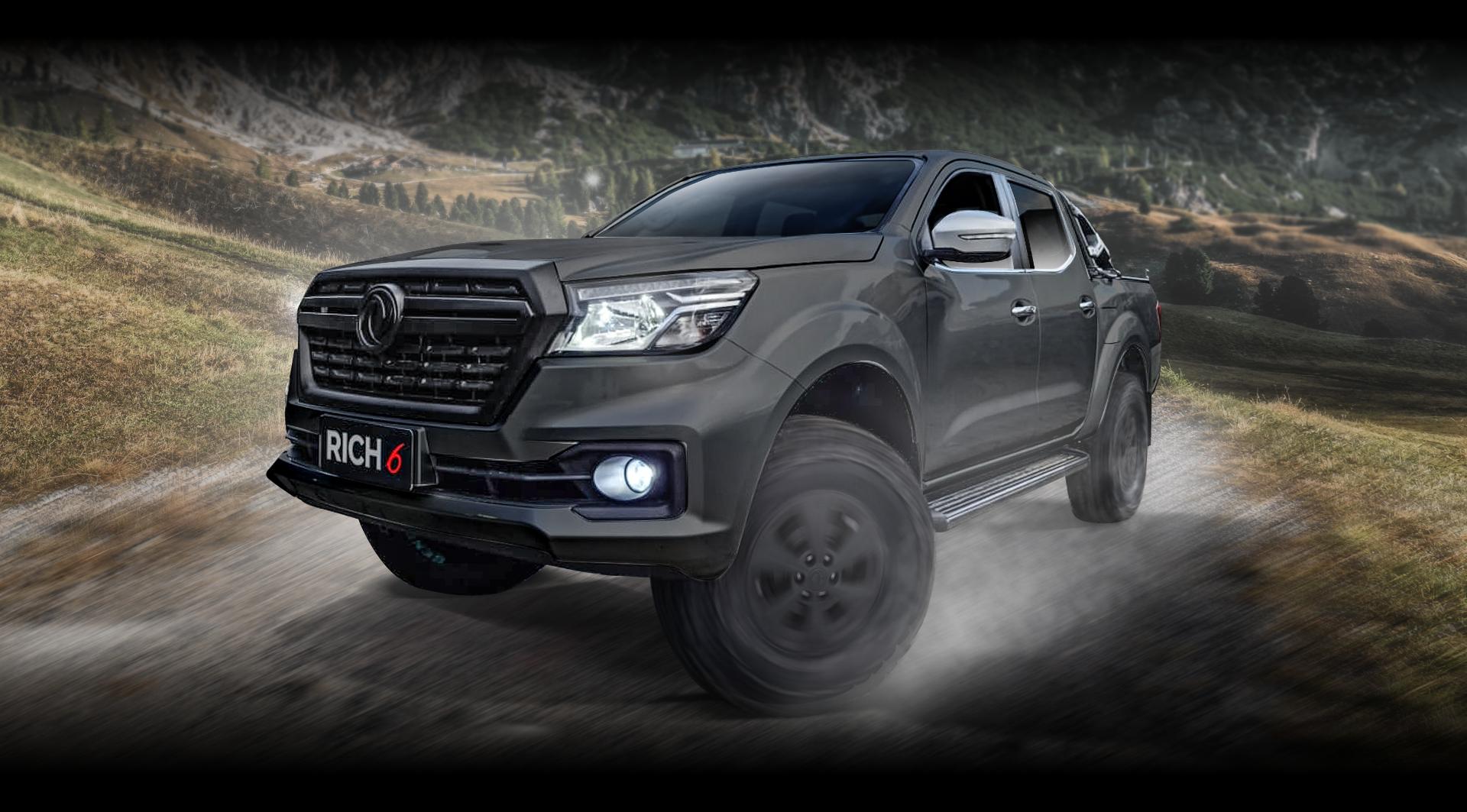Desata todo el poder de la nueva camioneta Rich 6 Thunder