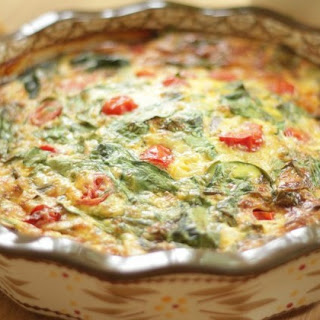 Spinach and Cheddar Frittata