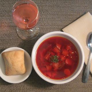 Fall Beet Soup (Borscht)