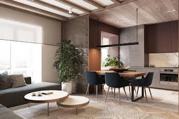 Appartement 4 pièces 75,51 m2