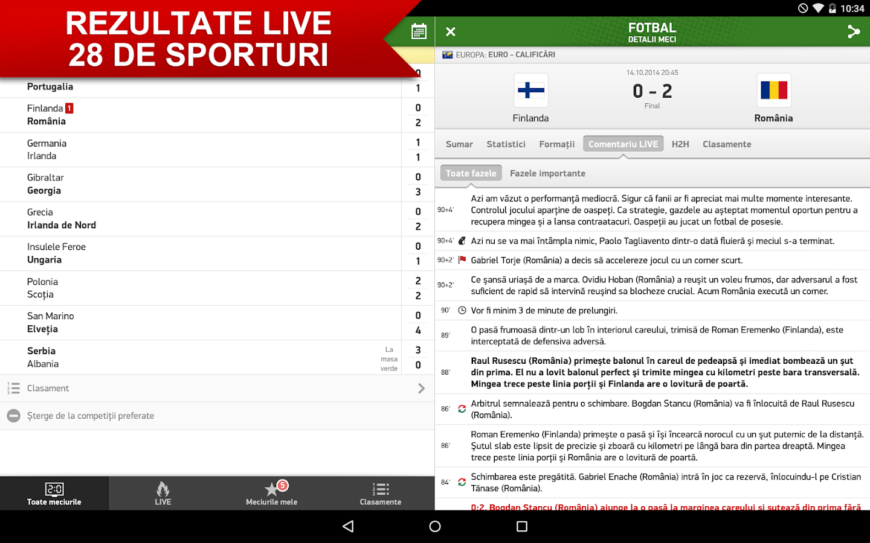 Rezultate Fotbal Live