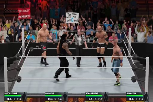 Hints WWE 2K17 Smackdown 1.0 screenshots 8