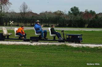 Photo: Joseph, Rick White (PaPa), and Logan.   2009-1127 HALS Anniversary Meet