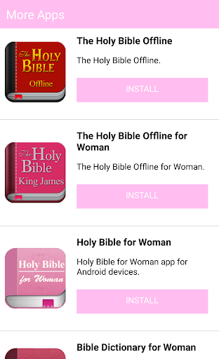 Holy Bible for Woman screenshot